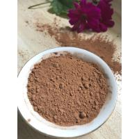 Best NF02 Dark Brown Natural Low Fat Cocoa Powder 4%-8% Fat Content , 5.0-5.8 PH Value wholesale