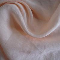 China Silk/linen voile fabric, made of 30% silk and 70% linen on sale