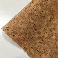 Best 0.4-1.2MM Thickness Cork Leather Fabric Natrual Sound Insulating Dirt Repellent wholesale