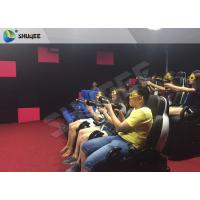 Best Ingenious Simulating Game 7D Movie Theater For Theme park / Exhibition Hall wholesale