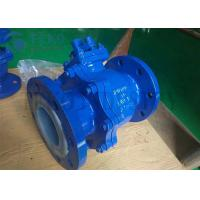Best Vehicle Lever Operation Teflon Lined Ball Valve For Chemicals Corrosion Resistant wholesale