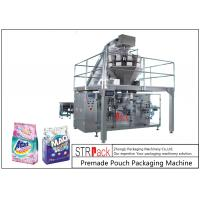 Best Powder / Granules Premade Pouch Packaging Machine High Efficiency With Linear Weigher wholesale