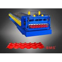 Best 960 Type Steel Plate Glazed Tile Forming Machine , Metal Roofing Roll Former wholesale