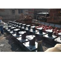 Best 50T-150T Casting Iron Marine Dock Bollard Cleat Bollard for Ship Boat Vessel Mooring wholesale