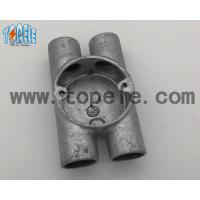 Best BS4568 Electrical Conduit Fittings Twin Through Way H Malleable Iron Box 20mm -32mm wholesale