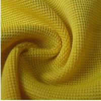 Best 95%polyester 5%spandex knitting 1*1 rib fabric wholesale