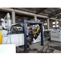China Flat Polycarbonate Sheet Making Machine Clear PC Roofing Plastic Panel Extrusion Line on sale