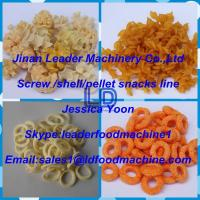 Best High productivity Automatic Screw/shell/chips frying food extrusion machine wholesale