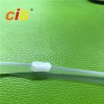Best 11MM Width Plastic Transparent EVA Zipper Garments Accessories For Document Bags wholesale