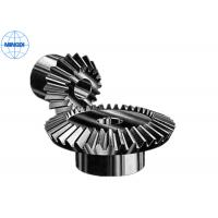 China Mirco Forging Steel Straight Bevel Gear / Spur Bevel Gear with Right Hand Direction on sale