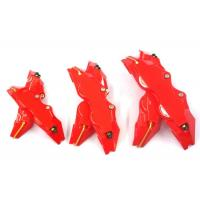China Auto Caliper Brake Covers/ Red Brake Pad Covers Increase The Braking Effect on sale