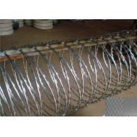 BTO22 CBT65 Razor Barbed Wire Zinc Coated Stainless Steel Material