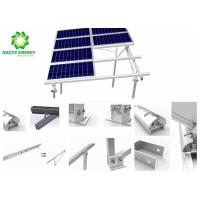 Best Solar PV Power Energy Bracket Aluminum Structure Patent Anodized Slope Solar Mounting  Saving Labor Costs wholesale