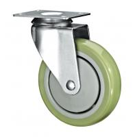 "Best 5"" Polyurethane PU Caster Wheel Swivel For Case Carts And Utility Carts wholesale"