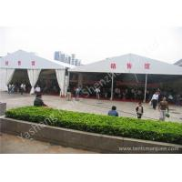 China 15M Width 850gsm PVC Fabric Cover Ultraviolet proof Outdoor Event Canopy Tent on sale