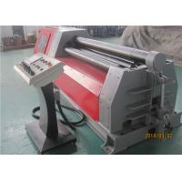 Best CNC 4 Roll Plate Bending Roller Machine , 16×2000 42CrMo Bending Machine For Pipe wholesale