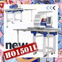 China 1200 spm high speed brother type single head 360*1200mm flat hat t-shirt towel computer embroidery machine for sale on sale