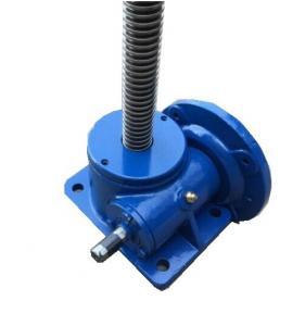 Best SWL Series Blue Worm Gear Elevator / Worm Screw Lift / Worm Gear Screw Jack wholesale