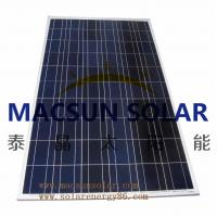 Buy cheap Macsun solar 300W Poly Crystalline Solar Panels for solar power system product