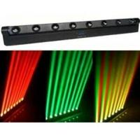 China Black Bar Four-colors LED Moving Head Light Red Green Blue White 8PCS 10w Cree Bulbs on sale