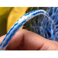 Best Hand Line for Cast Net-Holow Braided Polyethylene Rope-White/Blue Mixed wholesale