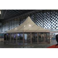 Best φ10M Six Sides Pagoda Party Tent Temporary Aluminum Frame For Shanghai Exhibition wholesale