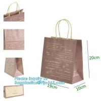 Best Customized Luxury Eco Retail Packaging ,  Gift Paper Bag Packaging wholesale