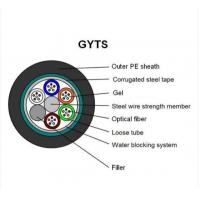 Best GYTS Multi Strand Fiber Optic Cable Min 8.8mm±0.2mm Cable Diameter ISO Assured wholesale
