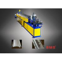 Best Stainless Steel Roller Shutter Door Roll Forming Machine Curved Slat Sawing Type wholesale