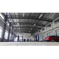 Best Metal Frame Garage Steel Building Construction With Steel Cladding Sheet Wall / Roof wholesale