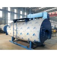 PLC Control Industrial Gas Fired Steam Boilers , Natural Gas Boiler For Palm Oil Mill