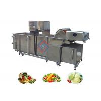 China Air Bubble Type Fruit and Vegetable Washing Equipment Supplier on sale