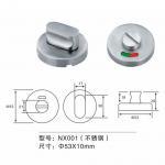 Best SS 304 Door Fitting Hardware Stainless Steel Indicator Door Knob Lock Handle wholesale
