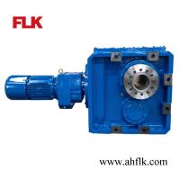 China Standard Helical Spiral Bevel Gear Box with Involute Spline Hollow Shaft on sale