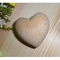 China handmade wood heart beech wood heart promotinal gifts on sale