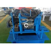 Best Roller Shutter Door Roll Forming Machine , Guide Rail Cold Forming Machine wholesale