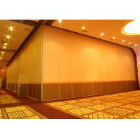 China Office Hanging Sliding Door , 65mm Panel Operable Wall For Banquet Wedding Facility on sale