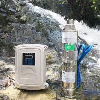 Best 3 inch deep well solar pump 1 hp to 5 hp solar water pump solar water pumping and submersible system for for zambia wholesale