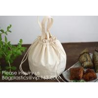 Best Natural Beige Thick Canvas Drawstring Pouches Produce Bags Muslin Bags Gift Bags Sacks Sachet Bags for Jewelry Candy Fav wholesale