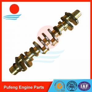 China Hyundai excavator diesel engine parts supplier, 6D22/6D20 crankshaft ME999368 ME999367 on sale