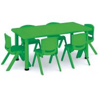 China education equipment kindergarten furniture nursery plastic table and chairs suppliers on sale