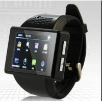 Best AN1 Smart Watch Phone Mtk6515 dual core android 4.1 bluetooth GPS Wifi compass Playstore S wholesale