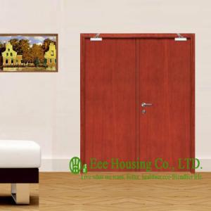Best 30/60/90 Wooden Fire Retardant Door For Commercial Building, With Hinge, Lock, Door Closer wholesale