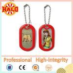 Buy cheap Metal girl and animal sex dog tag pendant dog tag with muffler product