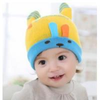 Best Baby hat childrens cartoon headgear Korean best selling bunny curling knitted hat autumn and winter new wholesale wholesale