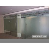 Best Sheets Of Toughened Glazed Modular Office Partitions With Straight Glass Panels wholesale