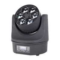 Best Beam Color Wash Bee Eye 	LED Moving Head Light Mini Size 6 *15W RGBW Disco Party Lighting wholesale