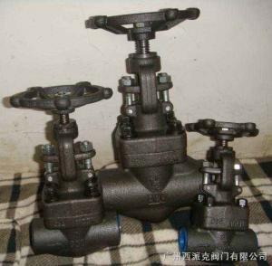 Best A105/F304/F316/SS304/SS316 CL800 NPT/Threaded/S.W/Butt Welding CL800 1500# GATE VALVE wholesale