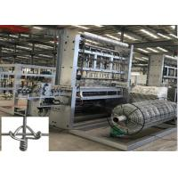 Best Durable Fence Making Equipment Anti - Corrosive , Chain Link Fence Weaving Machine wholesale