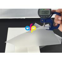 China 80 Micron Pouch Laminating Film Custom Thickness / Size Ideal Photo Protect Film on sale
